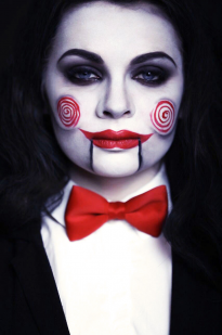 Billy Puppet grimas