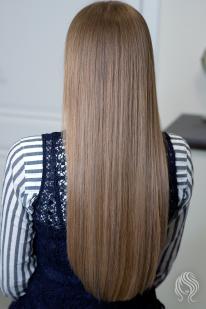 Plaukų dažymas sruogelėmis ir tonavimas