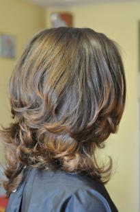 Kirpimas garbanotiems plaukams