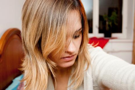 """""""Ombre"""" stiliaus plaukų dažymas"""