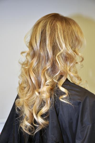 Balayage Ombre plauku dažymas