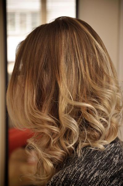 Ombre plaukų dažymas