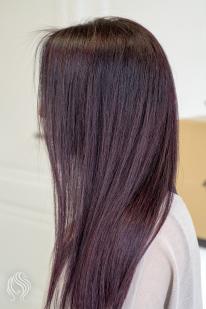 Rudai violetinė spalva